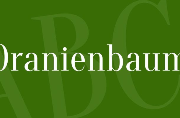 Oranienbaum Font
