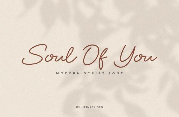 Soul Of You Font