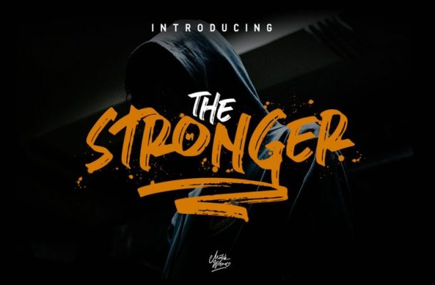 Stronger Brush font