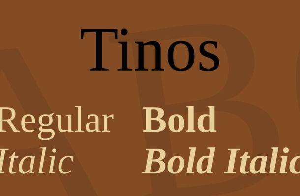 Tinos Font Family