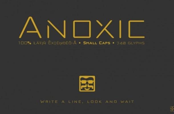 Anoxic Font Family