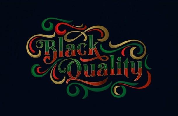 Black Quality Font