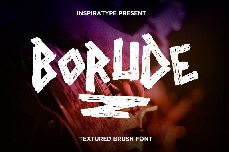 borude-font
