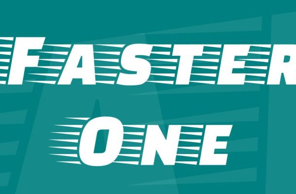 Faster One Font