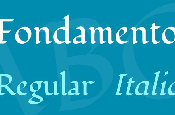 Fondamento Font Family