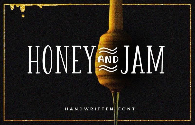 honey-jam-font-family