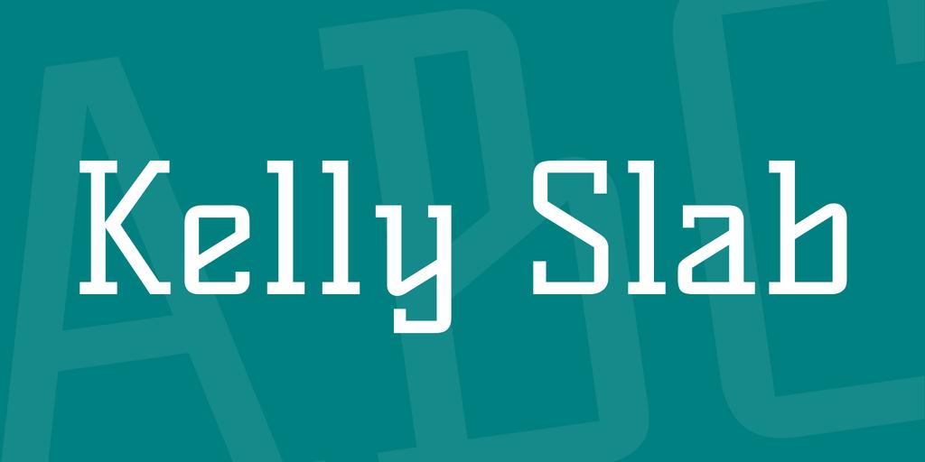 kelly-slab-font
