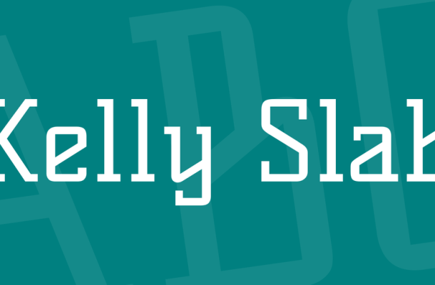 Kelly Slab Font