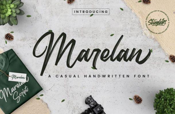 Marelan Font