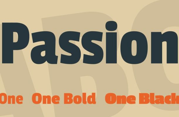 Passion One Font Family