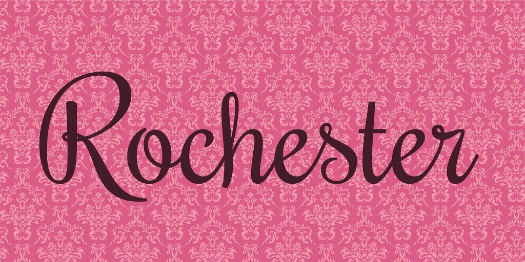 rochester-font
