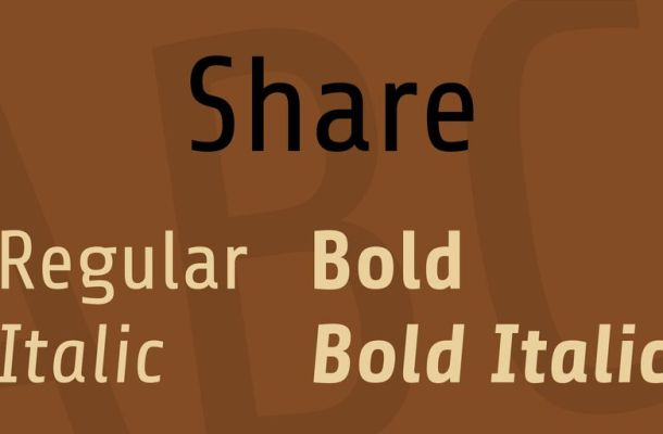 Share Font Family