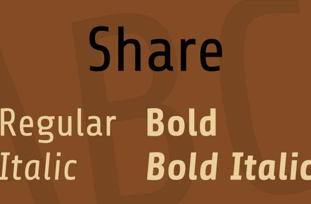 Share Font Family