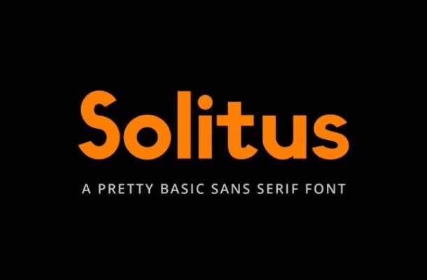 Solitus Font