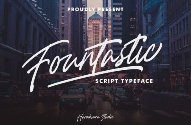 Fountastic Font