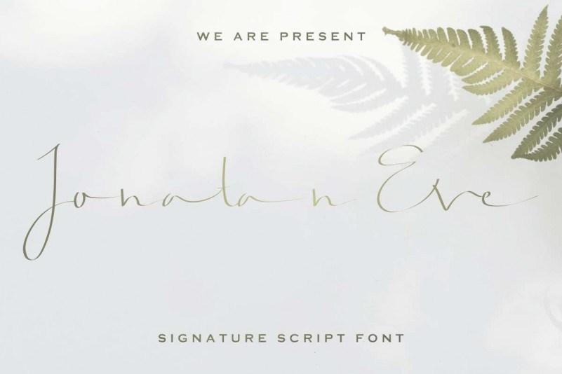 Jonatan-Eve-Script-Font