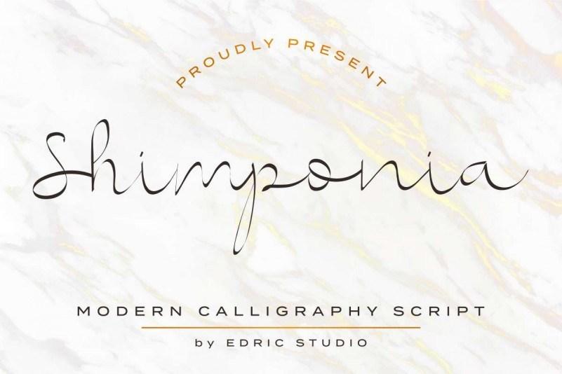Shimponia-Calligraphy-Font