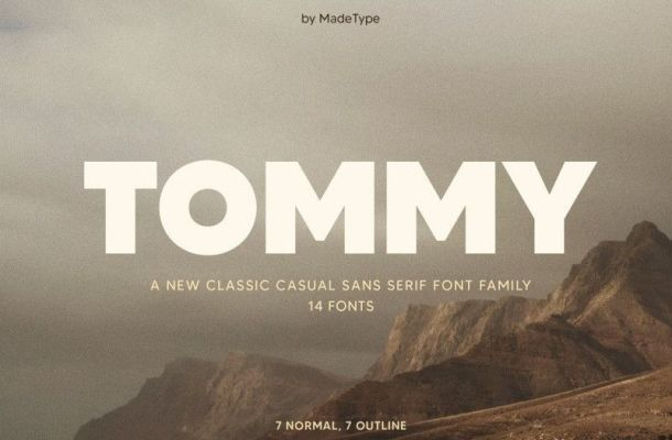 Tommy Font Family