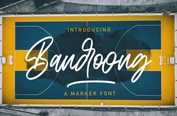 Bandoong Font