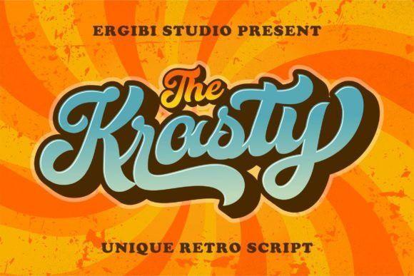 Krasty Display Font