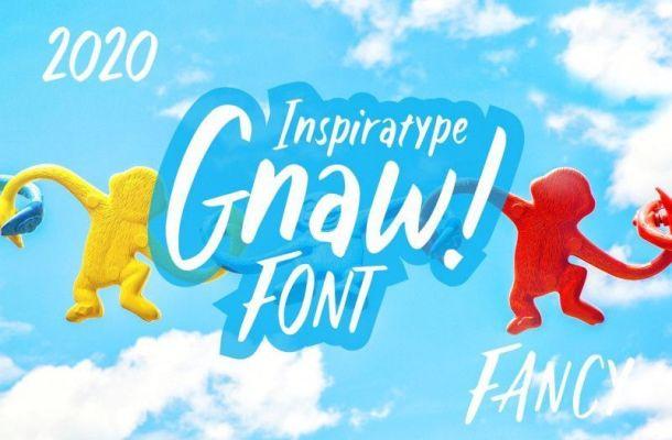 Gnaw – Kid's Fancy Font