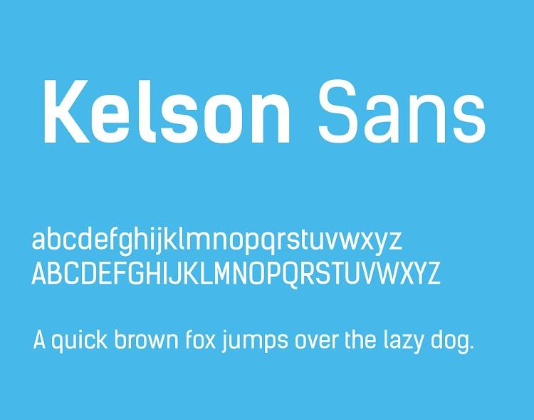 Kelson Sans Font Family