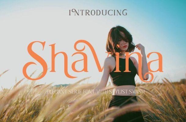 Shavina Serif Font