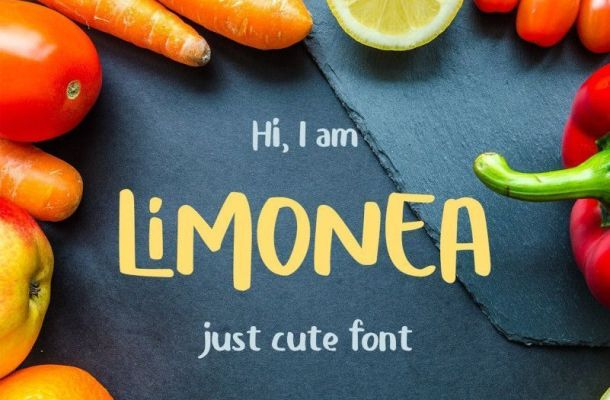 Limonea Display Font