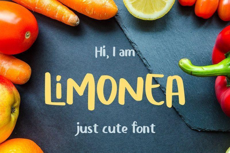 limonea-cute-font