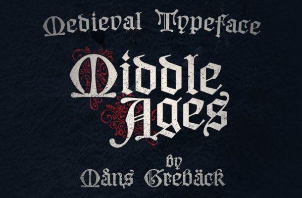 Middle Ages Blackletter Font