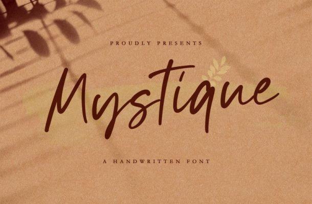 Mystique Handwritten Font