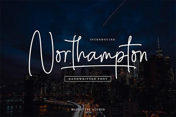 Northampton Handwritten Font