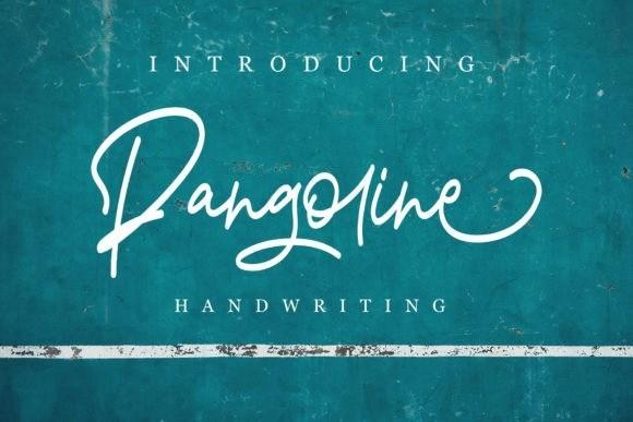 Pangoline Handwritten Font