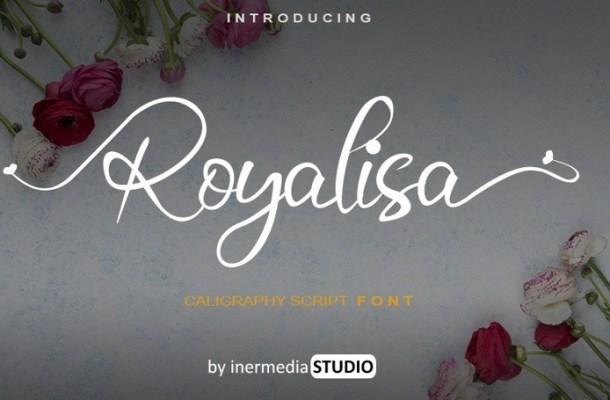 Royalisa Calligraphy Font