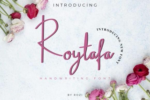 Roytafa Handwritten Font