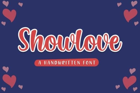Showlove Script Font