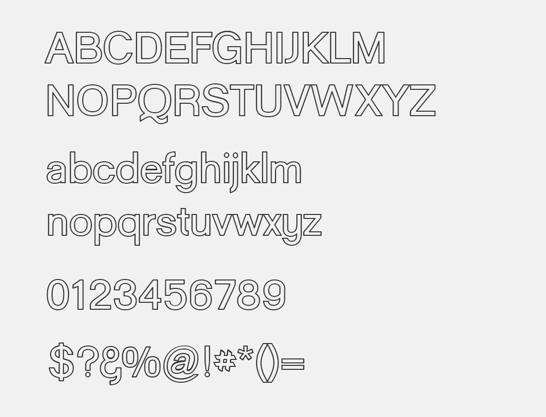 17 Goulong Bold Outline font