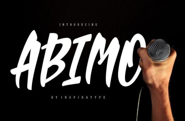 Abimo Display Font