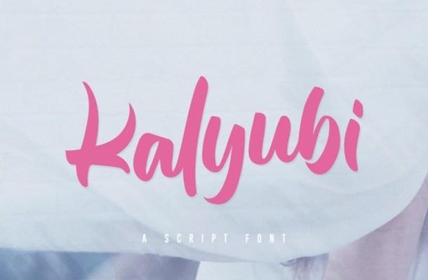 Kalyubi Script Font