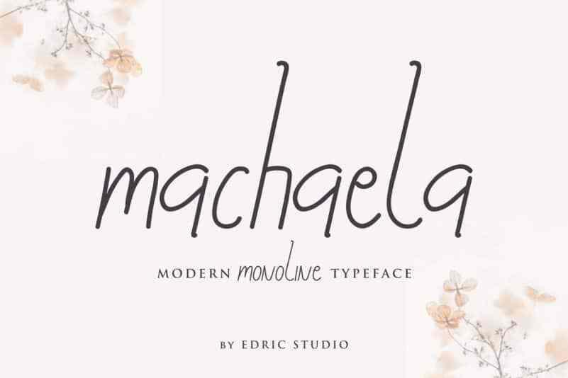 Machaela-Handwritten-Font-1