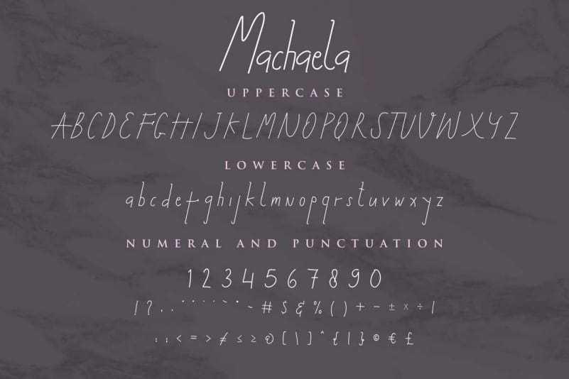 Machaela-Handwritten-Font-3