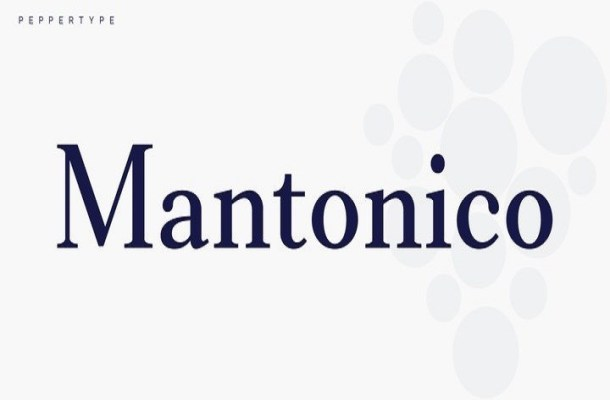 Mantonico Serif Font Family