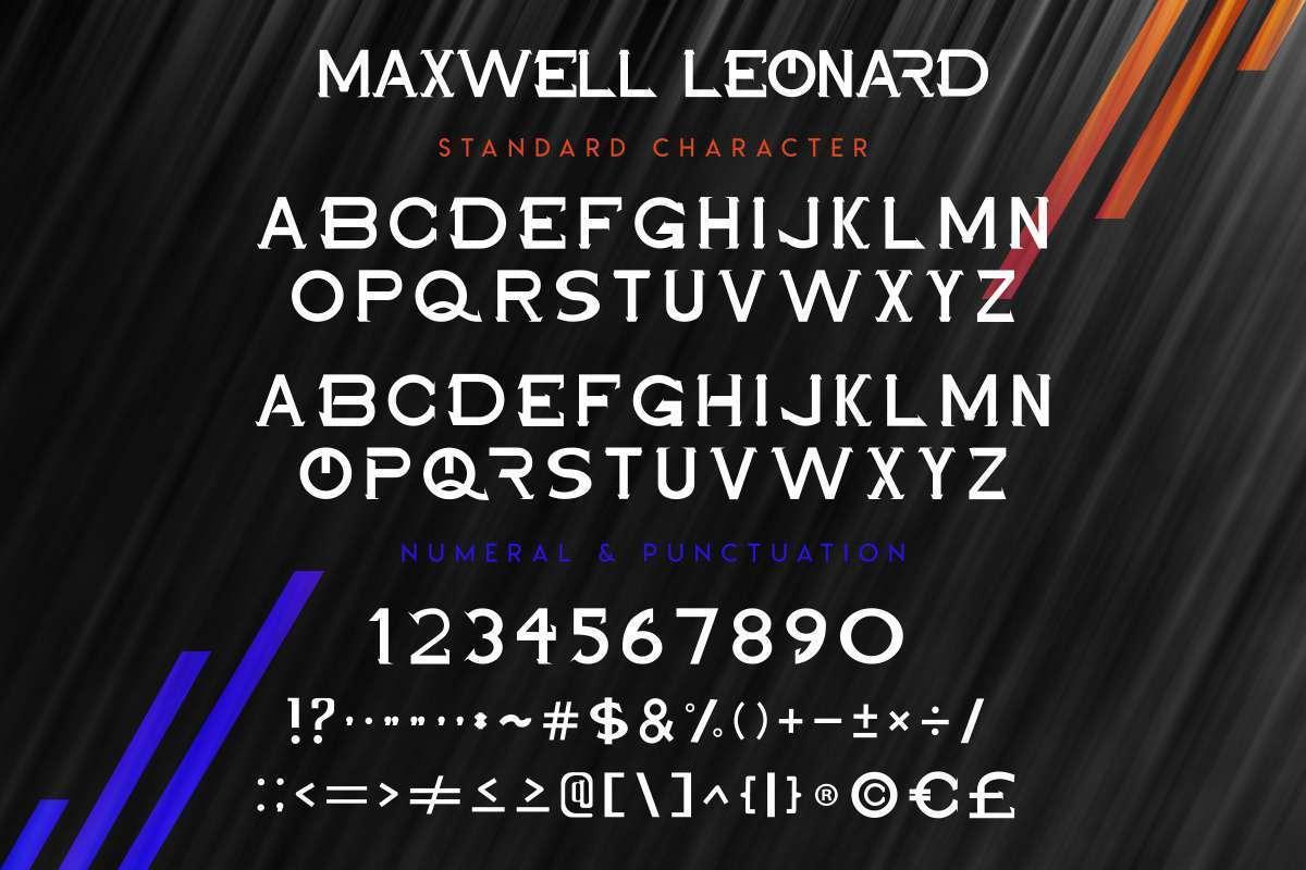 Maxwell-Leonard-Font-2