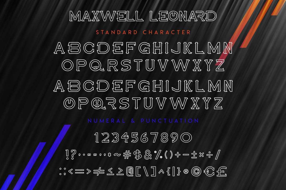 Maxwell-Leonard-Font-3