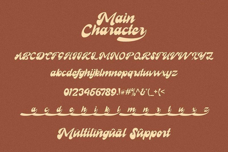Recollet-Retro-Bold-Script-Font-3