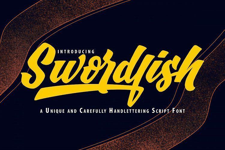 SwordFish-Unique-Handlettering-Script-1