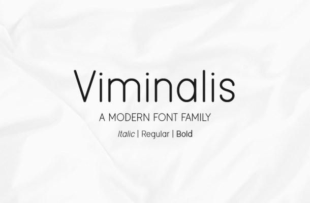 Viminalis Sans Font Family