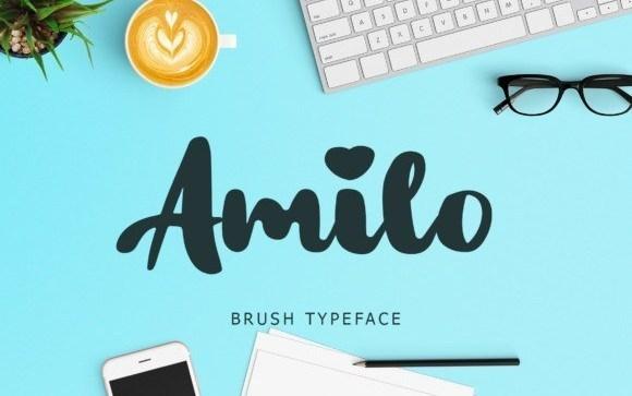 Amilo Script Font