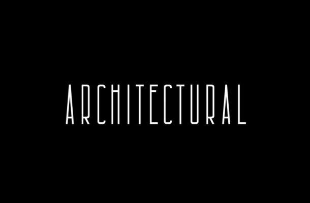 Architectural Free Sans Font