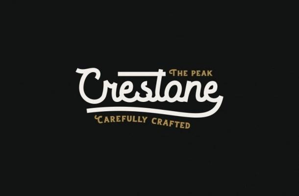 Crestone Vintage Script Font